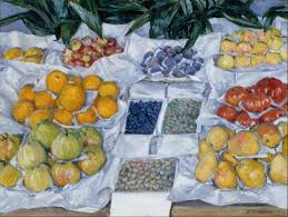 gustave cuisine file gustave caillebotte fruit displayed on a stand