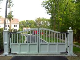 sightly wooden driveway gates and comely entry way design ideas