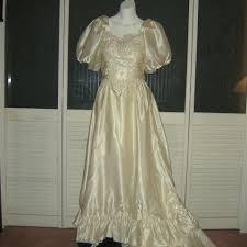 cinderella wedding dress satin liquid cinderella bridal gown vintage wedding dress size