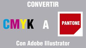 Pantones by Convertir De Cmyk A Pantone Illustrator Youtube