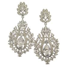 Bridal Chandelier Earrings Chandelier Bridal Earrings Anna Bellagio