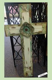 344 Best Handmade Crosses Images On Pinterest Wooden Crosses