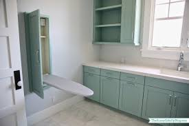 Full Size Ironing Board Cabinet Upstairs Laundry Room The Sunny Side Up Blog