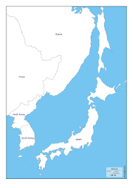 Korea Map Asia by Sea Of Japan East Sea Free Map Free Blank Map Free Outline