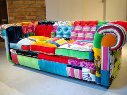 Patchwork Chesterfield - patchwork with a punch fabricadabra s