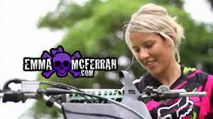 pro motocross riders emma mcferran australia u0027s first female fmx rider youtube
