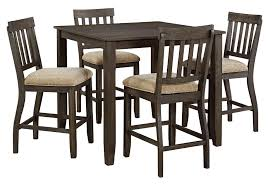 Overstock Com Chairs Dresbar Counter Height Dining Set With 4 Chairs Evansville