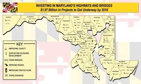 maryland map transportation map cuts baltimore out of maryland