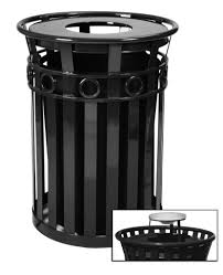 42 gal kolor can trash bin 9 lid styles 11 colors outdoor with