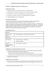 teacher u0027s guide for call centres u2013 customer contact