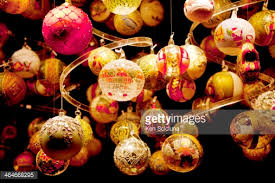 wienachtsmarkt austria vienna christmas decorations for sale stock