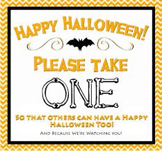 halloween signs u2013 candy u2013 fun for halloween