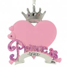 princess ornaments gifts ornaments for you