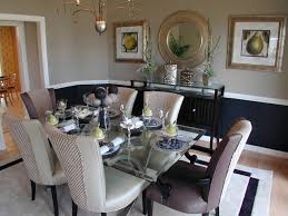 Two Tone Walls With Chair Rail Two Tone Dining Room Ideas U0026 Photos Houzz