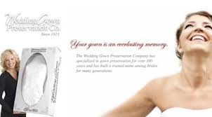 wedding gown preservation company wedding gown preservation co bridal reflections wedding partner
