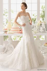 strapless wedding gowns aire barcelona 2015 strapless wedding dresses wedding inspirasi