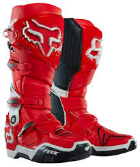hinged motocross boots fox racing mens instinct mx riding boots ebay