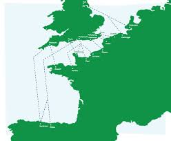 Calais France Map by The Finest Holiday Cottages In England French Country Cottages