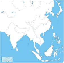 South Asia Political Map by South And East Asia Free Maps Free Blank Maps Free Outline Maps