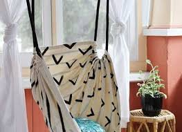 Creative Curtain Hanging Ideas Creative Diy Hanging Chair Ideas With Interesting Design Furniture