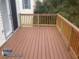 Composite Wood Composite Deck Using Trexcompany Transcend Tiki Torch Flooring