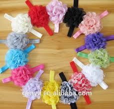 baby hair ties decorative baby hair accessory artificial flowers hair bands buy