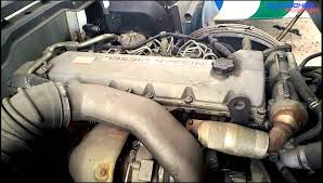ud nissan diesel j08e by hino engine view youtube