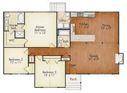 Arlington House Floor Plan Arlington House Plan United Built Homes Custom Home Builders