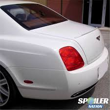 bentley rear 2005 2013 bentley flying spur euro style rear lip spoiler