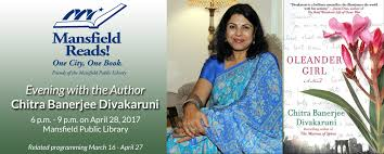 2017 mansfield reads oleander by chitra banerjee divakaruni