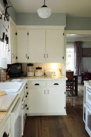 Ideas For Decorating On Top Of Kitchen Cabinets by Best Off White Paint For Kitchen Cabinets All Home Design Ideas