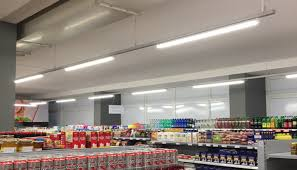 Retail Store Lighting Fixtures Led Linear Suspension Light Pendant School Lights Smartechled