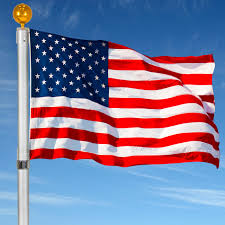 Why Is The Us Flag At Half Staff Today Flagpole Telescopic 25 U0027 Aluminum Flag Pole Outdoor Garden Solid