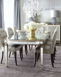 Mirrored Dining Room Furniture Mirrored Dining Room Table Modern
