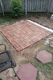 How To Do Landscaping by How To Make Backyard Brick Patio Sharenator