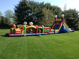 obstacle course rentals in nj lucky star amusements