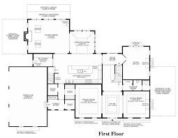 Georgian Floor Plans by Reserve At Holmdel The Henley Home Design