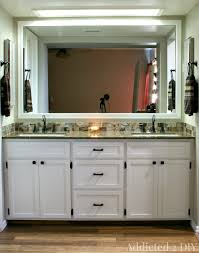 creative ideas build your own bathroom vanity plans ideas for low
