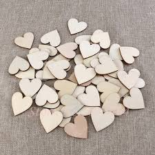 aliexpress com buy 100pcs 40mm blank heart wood slices discs