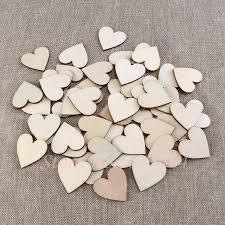 aliexpress com buy 100pcs 40mm blank heart wood slices discs
