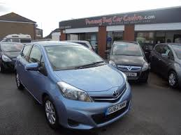 used toyota yaris diesel for sale motors co uk