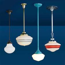 Classic Pendant Lights Lighting Design Ideas Clear Glass Schoolhouse Pendant Lights