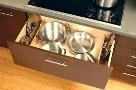 kitchen pan storage ideas kitchen pan organizer outstanding pot pan storage ideas pics