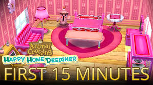 Homedesigner Video First 15 Minutes Of Animal Crossing Happy Home Designer