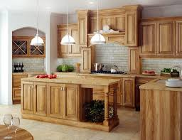hickory kitchen cabinet design ideas hickory cabinets ideas and inspiration hunker