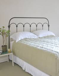 The 25 Best Wooden Beds by White Rod Iron Headboard With Regard To Best 25 Wrought Ideas On