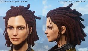 t haircuts from fallout for men ponytail hairstyles by azar v2 5a at fallout 4 nexus mods and