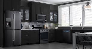 paint colors for kitchen with oak cabinets white ice appliances 2017 black stainless steel appliances with