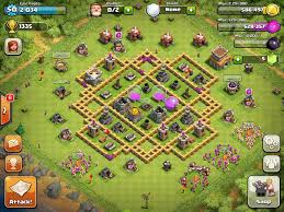 clash of clans base designs town hall level 8 1337 wiki