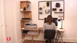comment faire un bureau d co un bureau sur mesure ccvb ccvb diy con comment
